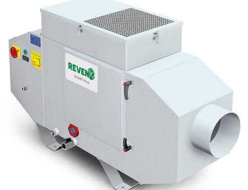 Szerszámgépek káros emisszió elleni védelme légszűrőkkel